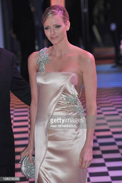 The 2010 Rose Ball 'Bal de la Rose Morocco' Charlene Wittstock in Monte Carlo Monaco on March 27th 2010
