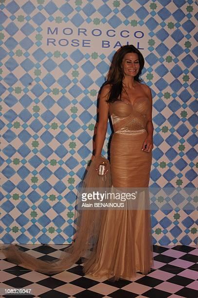 The 2010 Rose Ball 'Bal de la Rose Morocco' Isabelle Kristensen in Monte Carlo Monaco on March 27th 2010