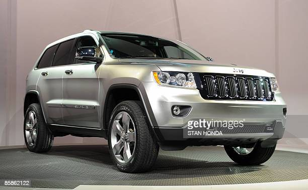 The 2011 Jeep Grand Cherokee is unveiled at the New York International Auto Show April 8 2009 in New York AFP PHOTO/Stan Honda