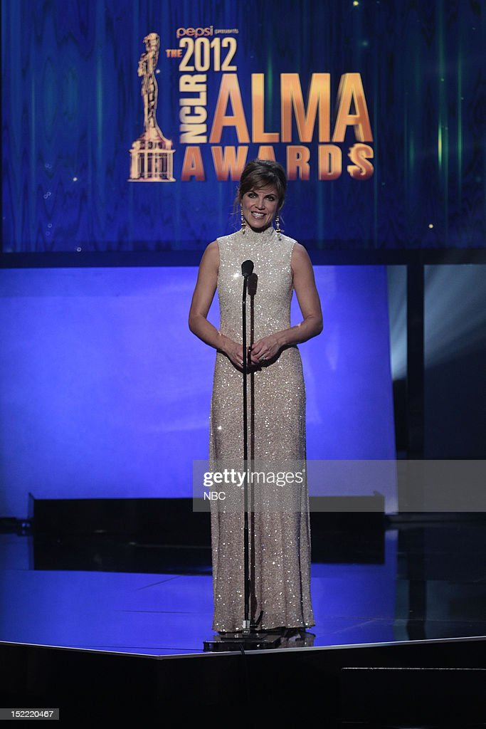 AWARDS -- The 2012 NCLR ALMA Awards 'Award Show' -- Pictured: <a gi-track='captionPersonalityLinkClicked' href=/galleries/search?phrase=Natalie+Morales+-+News+Anchor&family=editorial&specificpeople=710956 ng-click='$event.stopPropagation()'>Natalie Morales</a> during the 2012 NCLR ALMA Awards held at the Pasadena Civic Auditorium on September 16, 2012 --