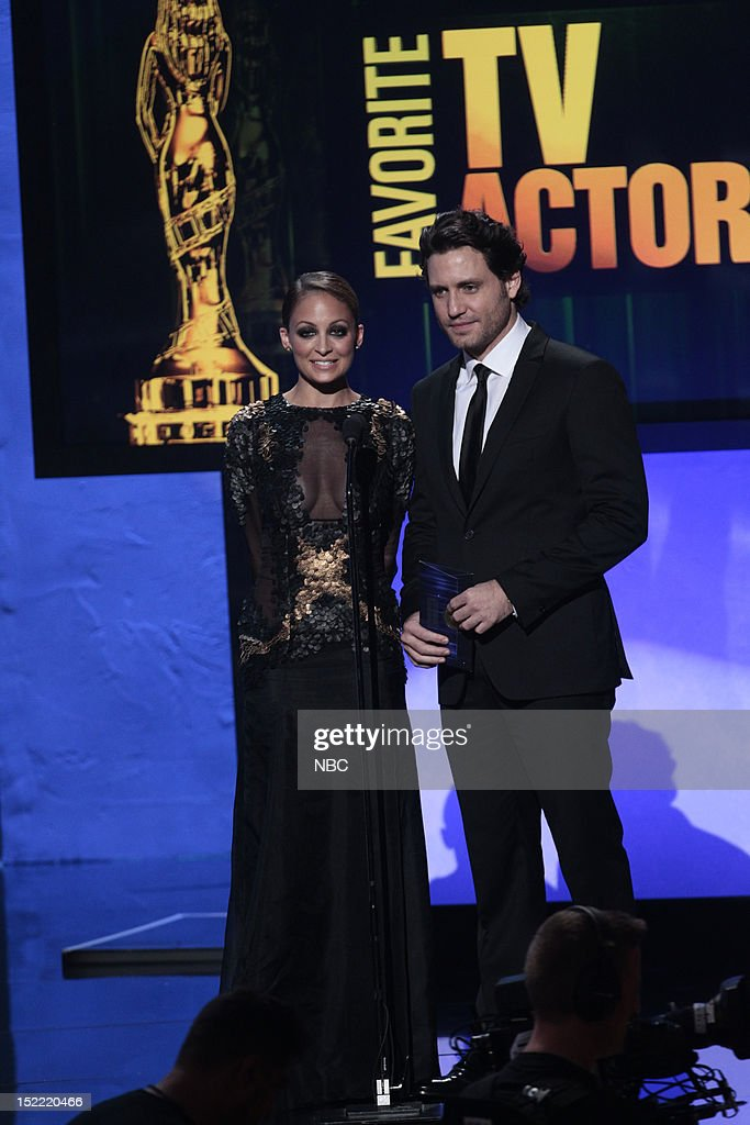 AWARDS -- The 2012 NCLR ALMA Awards 'Award Show' -- Pictured: (l-r) Nicole Ritchie and Edgar Ramirez during the 2012 NCLR ALMA Awards held at the Pasadena Civic Auditorium on September 16, 2012 --