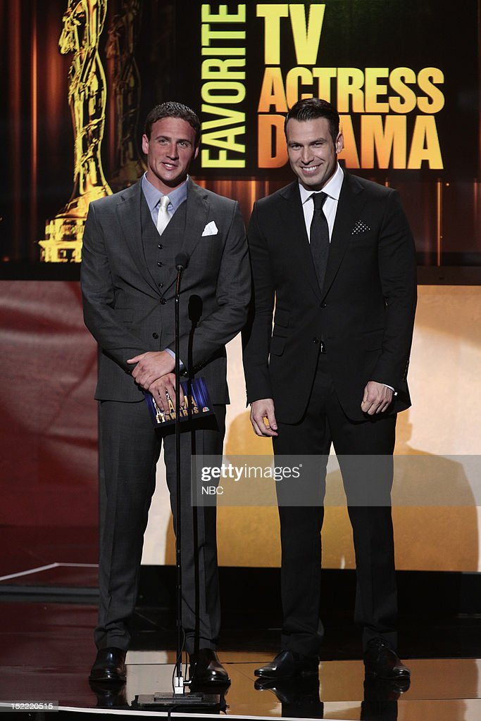 AWARDS -- The 2012 NCLR ALMA Awards 'Show' -- Pictured: (l-r) <a gi-track='captionPersonalityLinkClicked' href=/galleries/search?phrase=Ryan+Lochte&family=editorial&specificpeople=182557 ng-click='$event.stopPropagation()'>Ryan Lochte</a>, Rafael Amaya at the 2012 NCLR ALMA Awards held at the Pasadena Civic Auditorium on September 16, 2012 --