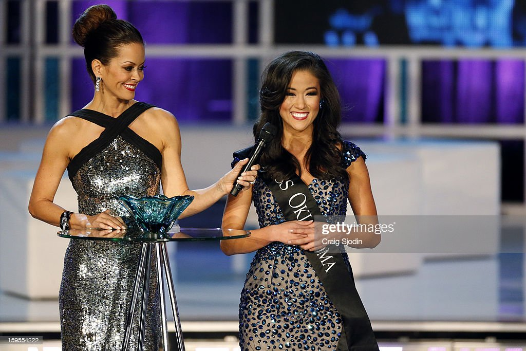 COMPETITION - 'The 2013 Miss America Competition' was telecast live from the Planet Hollywood Resort & Casino in Las Vegas on SATURDAY, JANUARY 12, 2013 (9:00-11:00 p.m., ET) on the ABC Television Network. (Photo by Craig Sjodin / ABC via Getty Images)) BROOKE