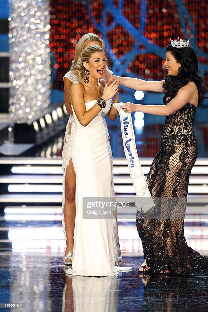 COMPETITION - 'The 2013 Miss America Competition' was telecast live from the Planet Hollywood Resort & Casino in Las Vegas on SATURDAY, JANUARY 12, 2013 (9:00-11:00 p.m., ET) on the ABC Television Network. MISS SOUTH CAROLINA 2012 ALI ROGERS (OBSCURED), MISS