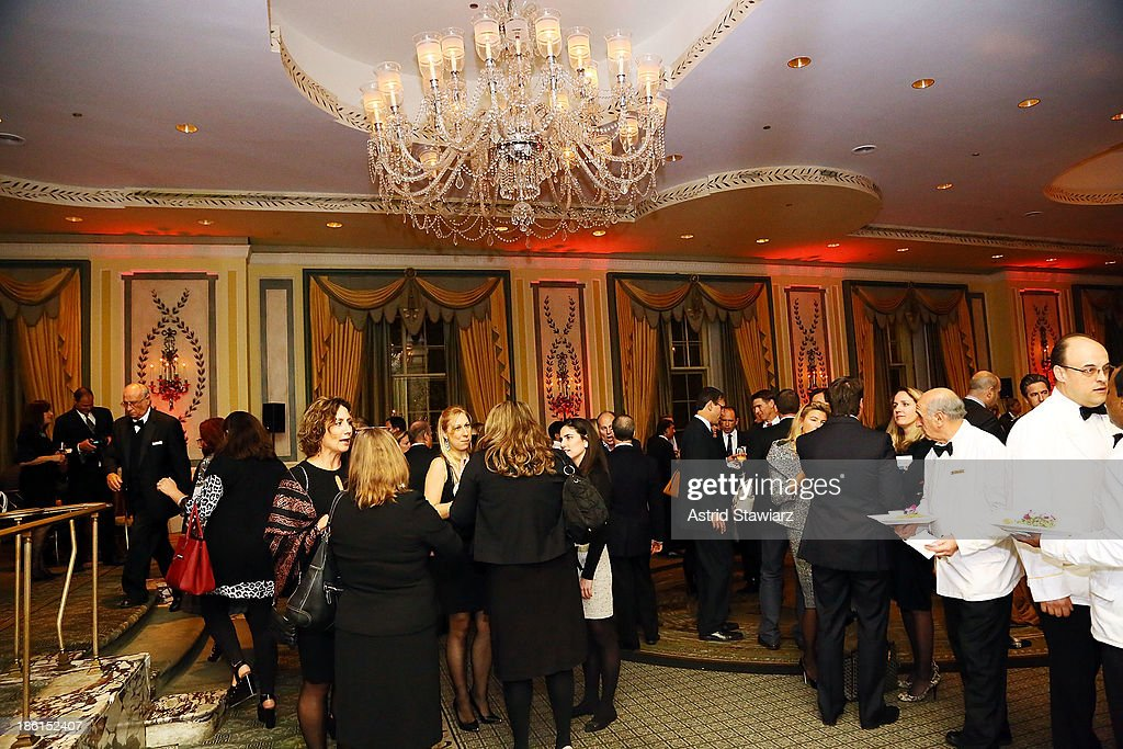 The 2013 WWD Apparel And Retail CEO Summit Dinner at The Pierre Hotel is held on October 28, 2013 in New York City.