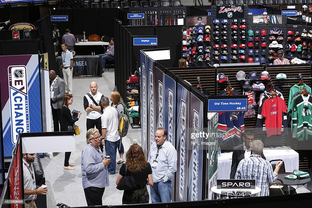 The 2014 NHL Exchange at Pepsi Center on July 23, 2014, in Denver, Colorado.