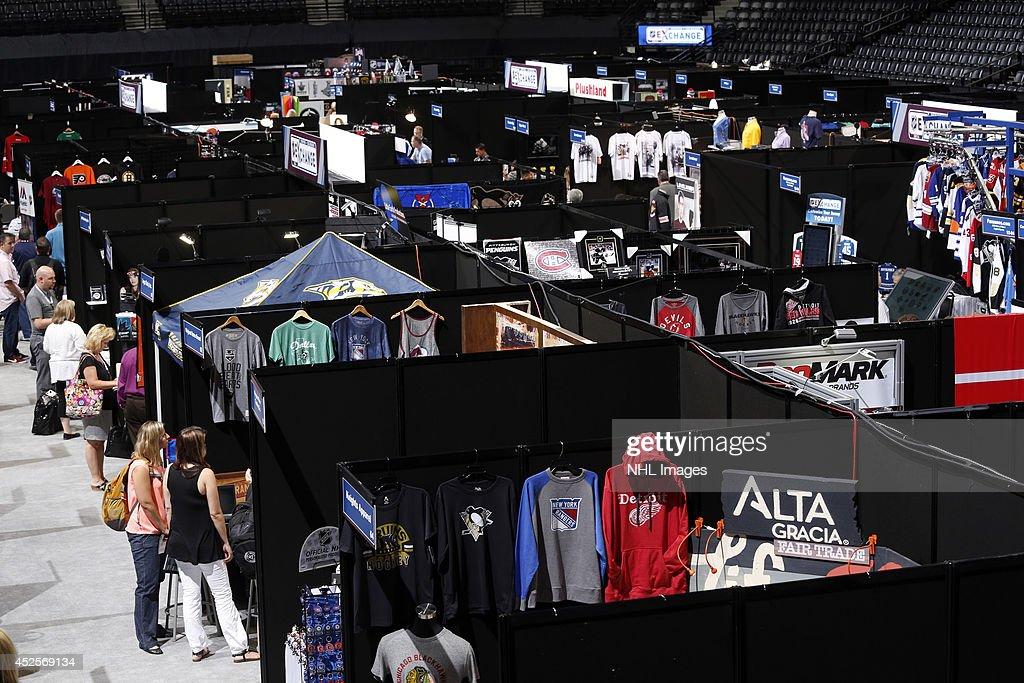 The 2014 NHL Exchange at Pepsi Center on July 23, 2014, in Denver, Colorado.
