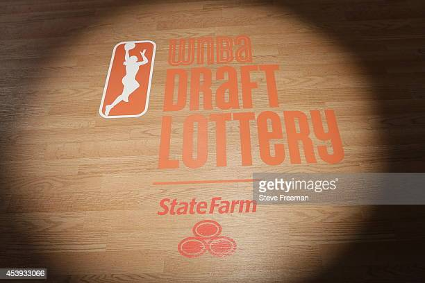 The 2014 WNBA Draft Lottery presented by State Farm on August 21 2014 at NBA Entertainment Studios in Secaucus New Jersey NOTE TO USER User expressly...