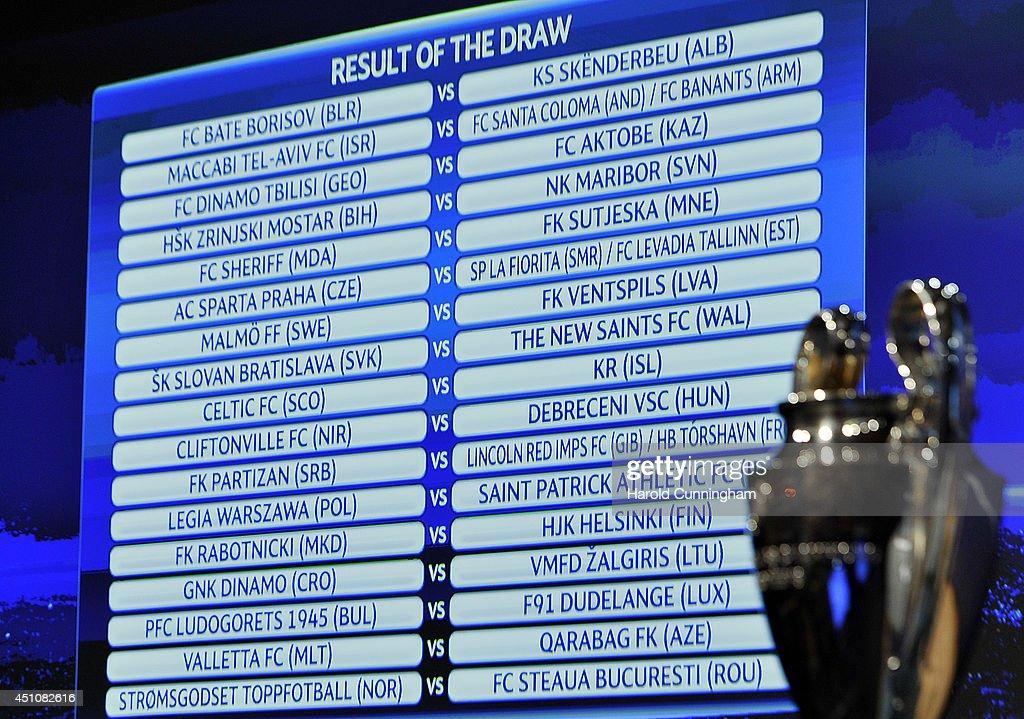 uefa champions league qualifikation