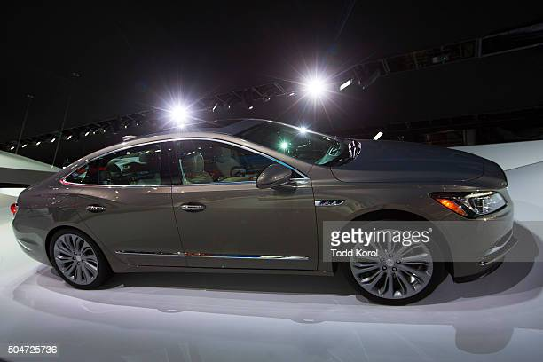The 2016 Buick LaCrosse on display at the North American International Auto Show in Detroit Michigan Toronto Star/Todd Korol