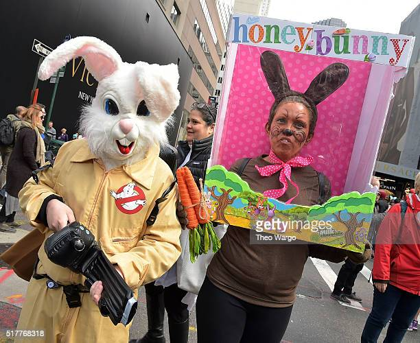 The 2016 New York City Easter Parade on March 27 2016 in New York City