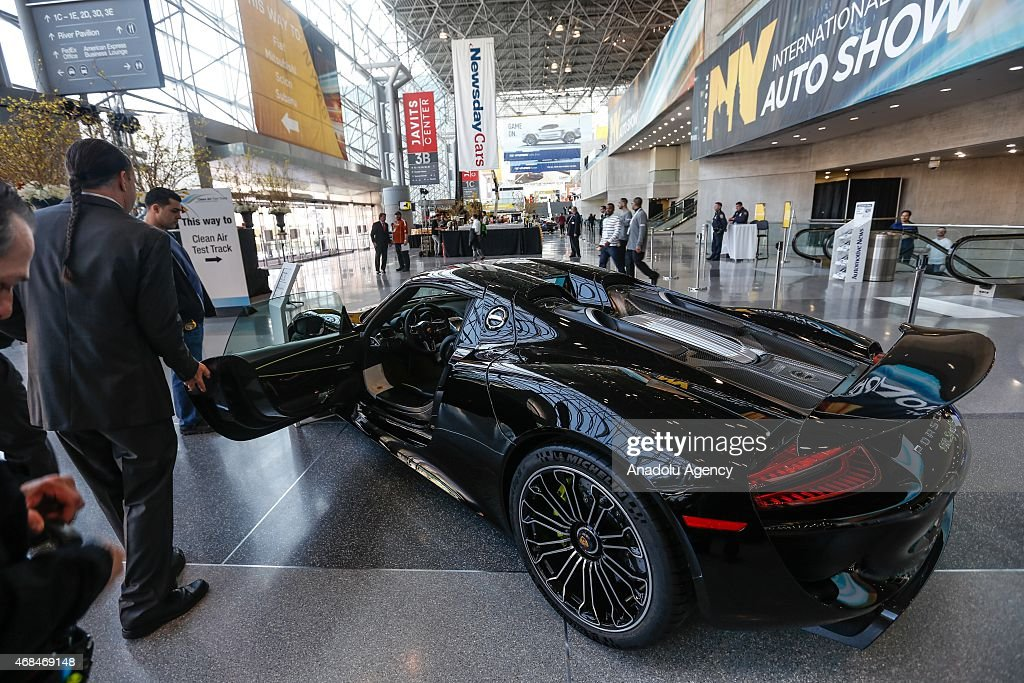 new york international auto show getty images. Black Bedroom Furniture Sets. Home Design Ideas