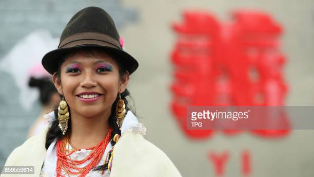 The 2017 Guan Yu International Cultural Tourism Festival kicks off in Yuncheng City of Shanxi ProvinceSeptember 252017The pictures show actors from...