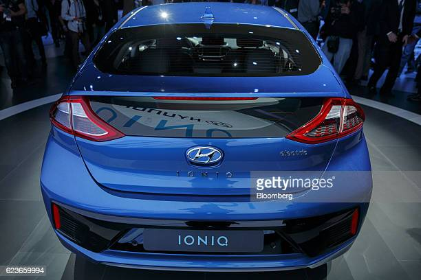 Hyundai Ioniq Stock Photos And Pictures Getty Images