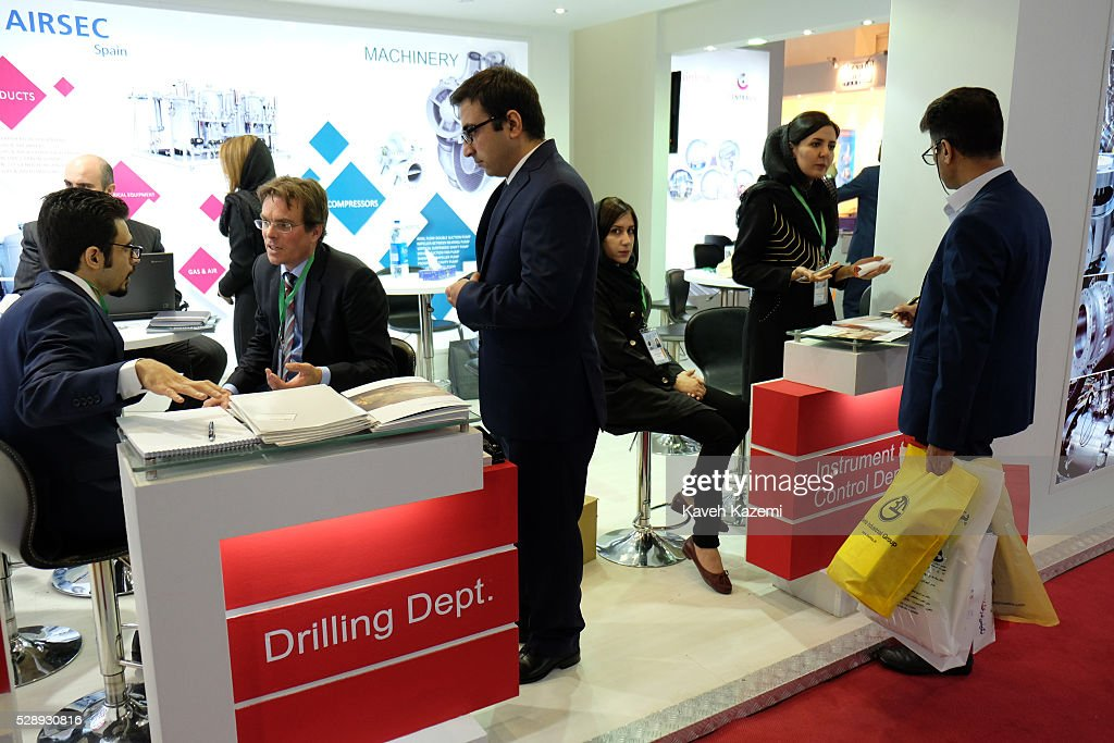 The 21st international oil, gas, refining and petrochemical exhibition opened today on May 5, 2016 in Tehran, Iran. Many international companies were present in the opening today with hundreds of businessmen from all over the world eager to exploit the Iranian market. After nuclear agreement was reached with 5+1 countries and the international sanctions were mostly lifted many international businesses in oil and gas industry are looking for their share on the Iranian market.
