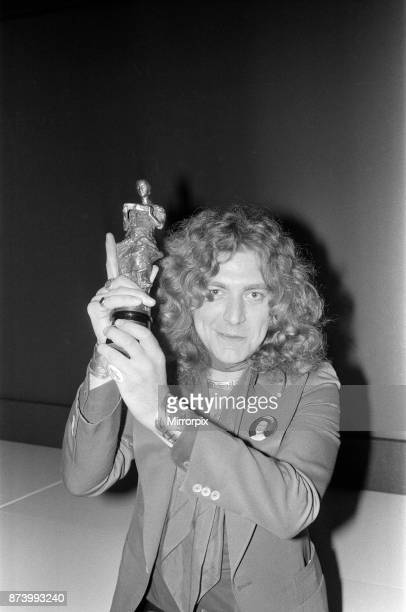 The 22nd Ivor Novello Awards presented by BASCA and sponsored by PRS Held at the Grosvenor House Hotel London Robert Plant lead singer of Led...