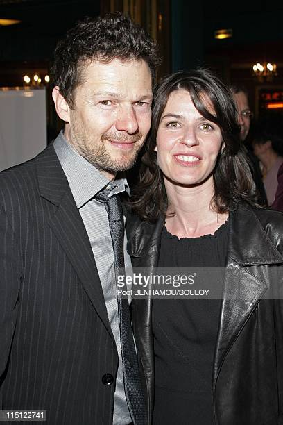 The 22nd 'Nuit des Molieres 2008' at the Folies Bergere in Paris France on April 28 2008 Jerome Kircher and Irene Jacob