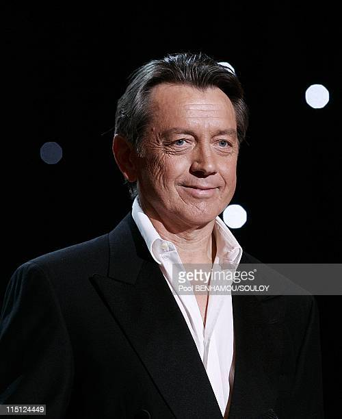 The 23rd 'Nuit des Molieres' at the Theatre de Paris France on April 26 2009 Bernard Giraudeau