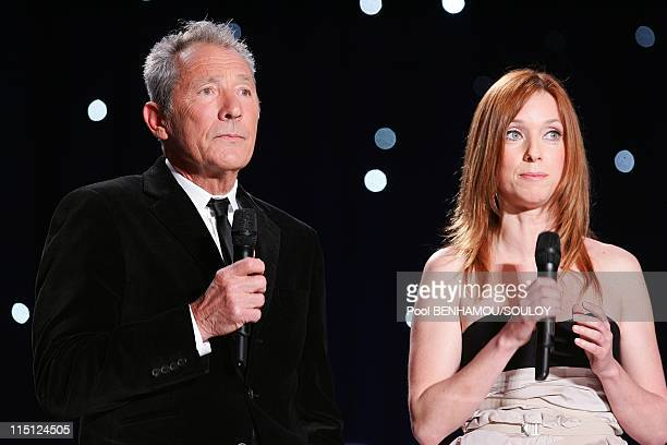 The 23rd 'Nuit des Molieres' at the Theatre de Paris France on April 26 2009 Israel Horovitz and Lea Drucker