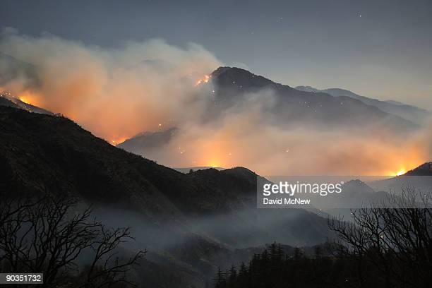 The 241squaremile Station Fire continues to blacken forests and race up rugged canyons along its eastern front deep in the Angeles National Forest on...