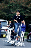 The 24Th Toyota Idea Olympics At Toyota Motor Corporation In Toyota City Japan On November 06 1999 Committee Chairman Award ' Swing Walker'