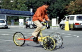 The 24Th Toyota Idea Olympics At Toyota Motor Corporation In Toyota City Japan On November 06 1999 Excellence Award 'NonSteer Cycle'