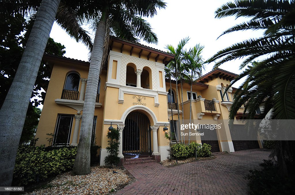 The $2.5 million home in a high-end Boca Raton, Florida neighborhood, which is being occupied by a squatter, is seen January 23, 2013.