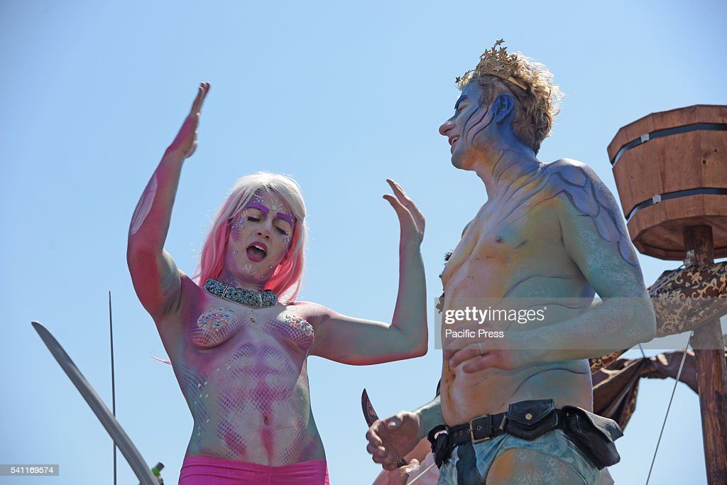 The 34th annual Coney Island Mermaid Parade, considered ...