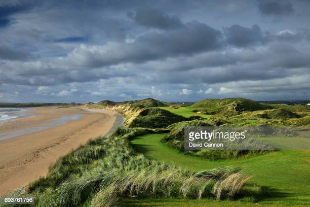 The 365 yards par 4 sixth hole at the Trump International Golf Links Doonbeg on June 5 2017 in Doonbeg County Clare Ireland