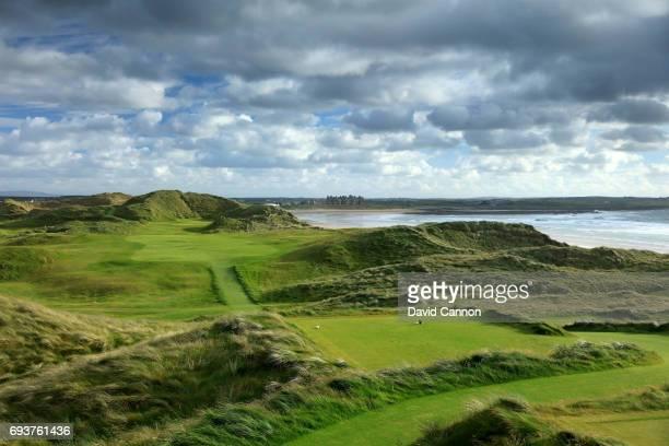 The 374 yards par 4 15th hole at the Trump International Golf Links Doonbeg on June 5 2017 in Doonbeg County Clare Ireland