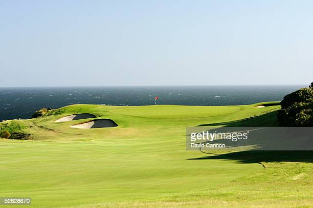 The 375 metre par 4 13th hole on the New South Wales Golf Club course on March 15 in La Perouse New South Wales Australia