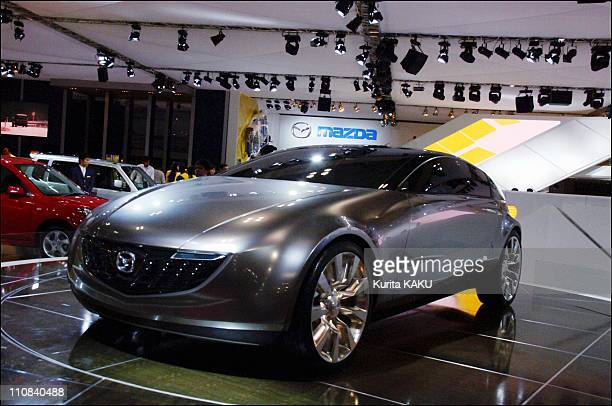 The 39Th Tokyo Motor Show In Tokyo Japan On October 19 2005 Makuhari Chiba Prefecture New cars to grace 39th Tokyo Motor Show 2005 Makuhari Messe...