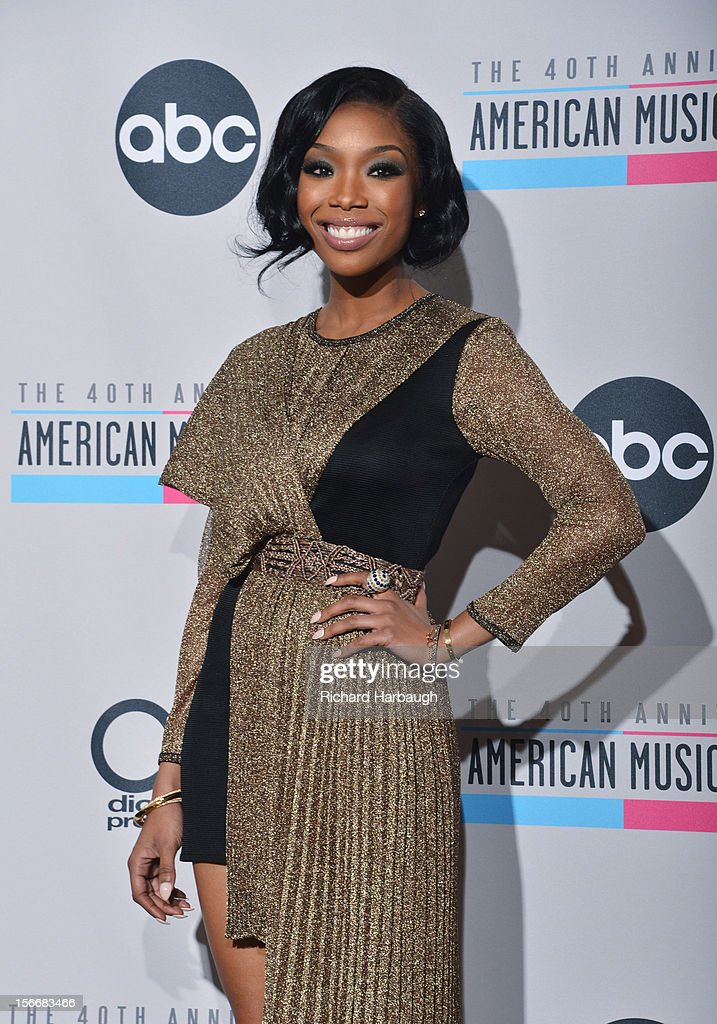 AWARDS - GENERAL - 'The 40th Anniversary American Music Awards' broadcast live from the NOKIA Theatre L.A. LIVE on SUNDAY, NOVEMBER 18 (8:00-11:00 p.m., ET/PT) on ABC. BRANDY