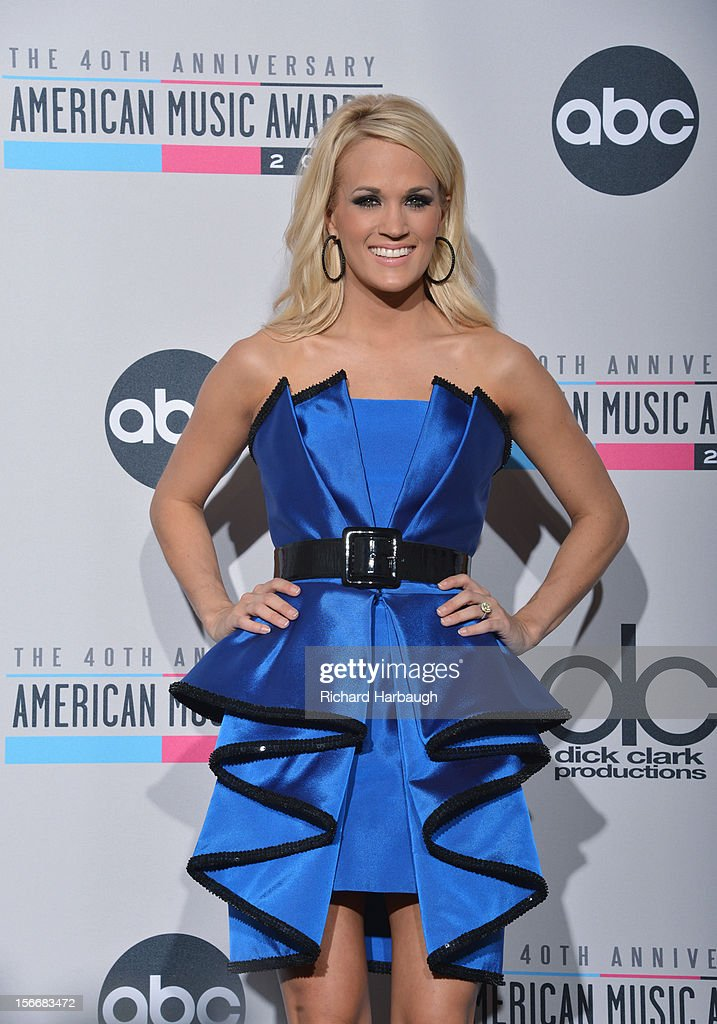 AWARDS - GENERAL - 'The 40th Anniversary American Music Awards' broadcast live from the NOKIA Theatre L.A. LIVE on SUNDAY, NOVEMBER 18 (8:00-11:00 p.m., ET/PT) on ABC. CARRIE