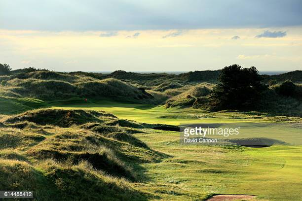 The 436 yards par 4 11th hole at Royal Birkdale Golf Club the host course for the 2017 Open Championship on October 11 2016 in Southport England