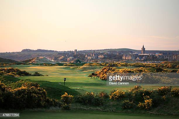 The 445 yards par 4 6th hole on the New Course Course at St Andrews Links on April 21 2015 in St Andrews Scotland