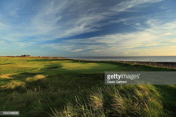 The 451 yards par 4 2nd hole at The Royal Porthcawl Golf Club on September 17 2010 in Porthcawl Mid Glamorgan Wales