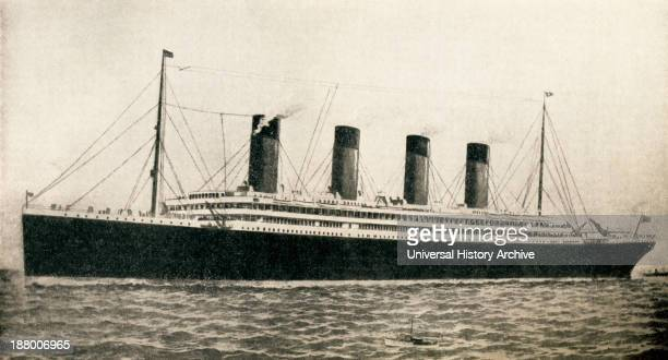 The 46328 Tons Rms Titanic Of The White Star Line