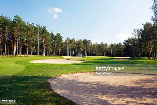 The 471 yards par 511th hole at the Halmstad Golfklubb venue for the 2007 Solheim Cup on September 17th in Halmstad Sweden