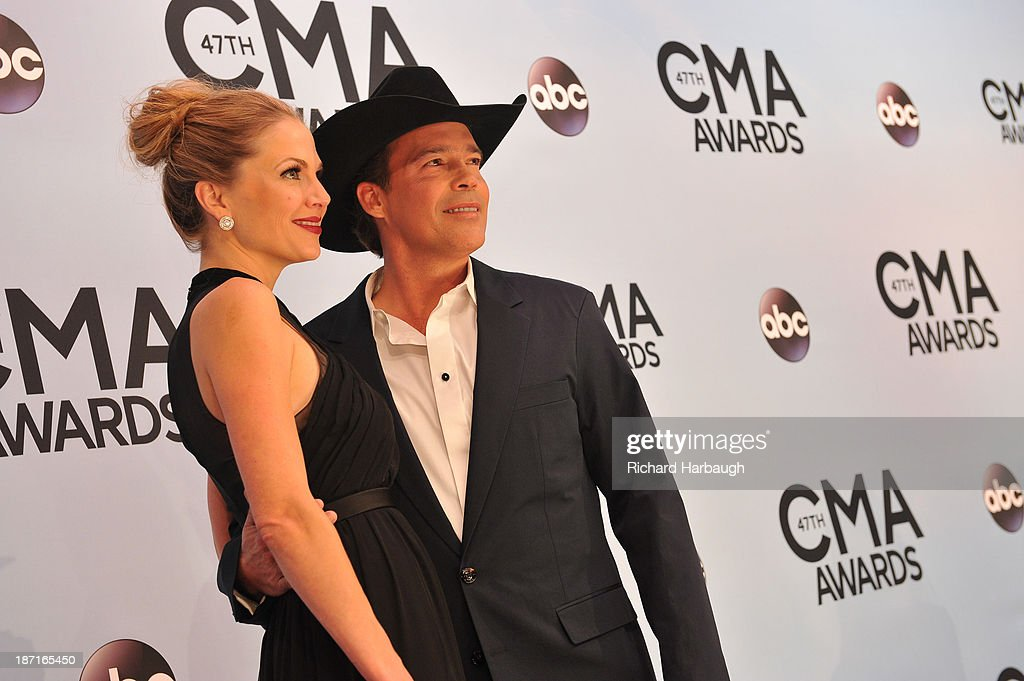 ARRIVALS - 'The 47th Annual CMA Awards' airs live from the Bridgestone Arena in Nashville on WEDNESDAY, NOVEMBER 6 (8:00-11:00 p.m., ET) on the ABC Television Network. (Photo by Richard Harbaugh/ABC via Getty Images)CLAY