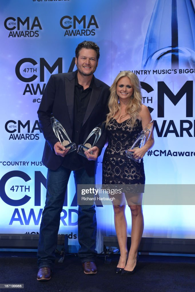 AWARDS - GENERAL - 'The 47th Annual CMA Awards' airs live from the Bridgestone Arena in Nashville on WEDNESDAY, NOVEMBER 6 (8:00-11:00 p.m., ET) on the ABC Television Network. BLAKE