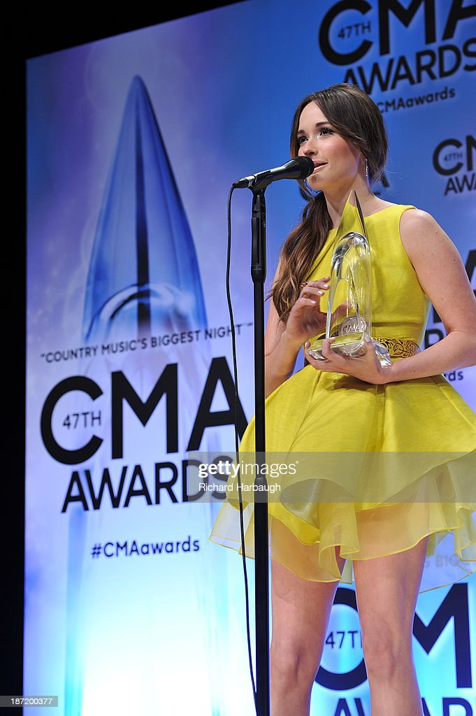 AWARDS - GENERAL - 'The 47th Annual CMA Awards' airs live from the Bridgestone Arena in Nashville on WEDNESDAY, NOVEMBER 6 (8:00-11:00 p.m., ET) on the ABC Television Network. KACEY