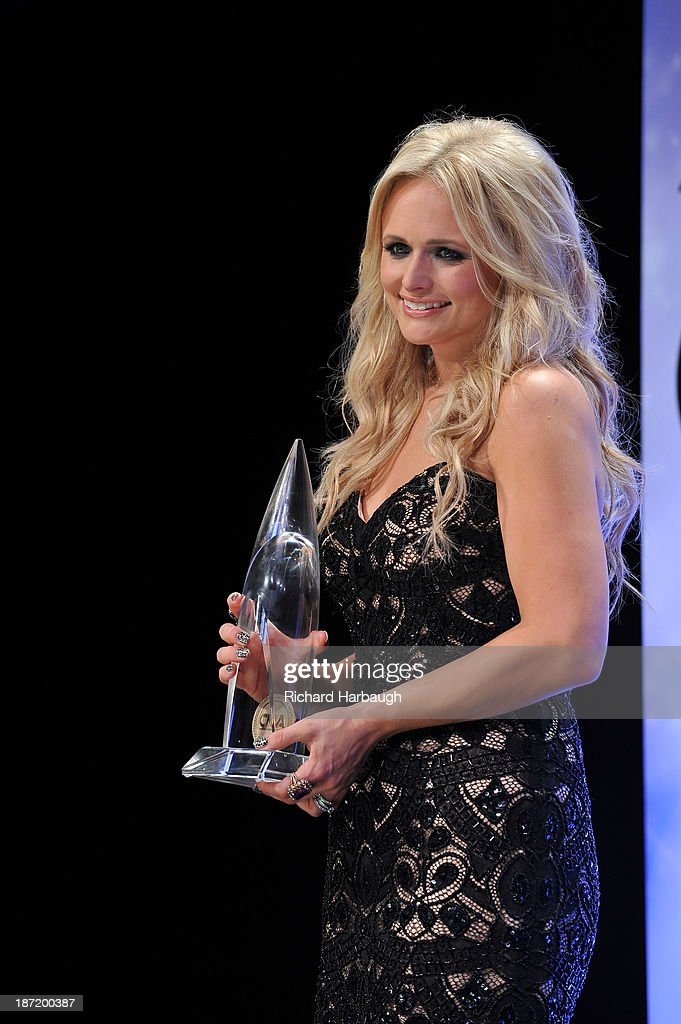 AWARDS - GENERAL - 'The 47th Annual CMA Awards' airs live from the Bridgestone Arena in Nashville on WEDNESDAY, NOVEMBER 6 (8:00-11:00 p.m., ET) on the ABC Television Network. MIRANDA