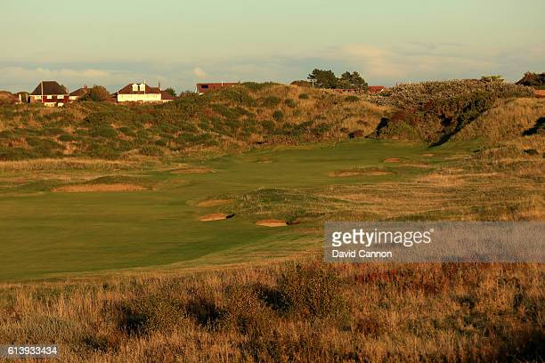 The 499 yards par 4 13th hole at Royal Birkdale Golf Club the host course for the 2017 Open Championship on October 10 2016 in Southport England