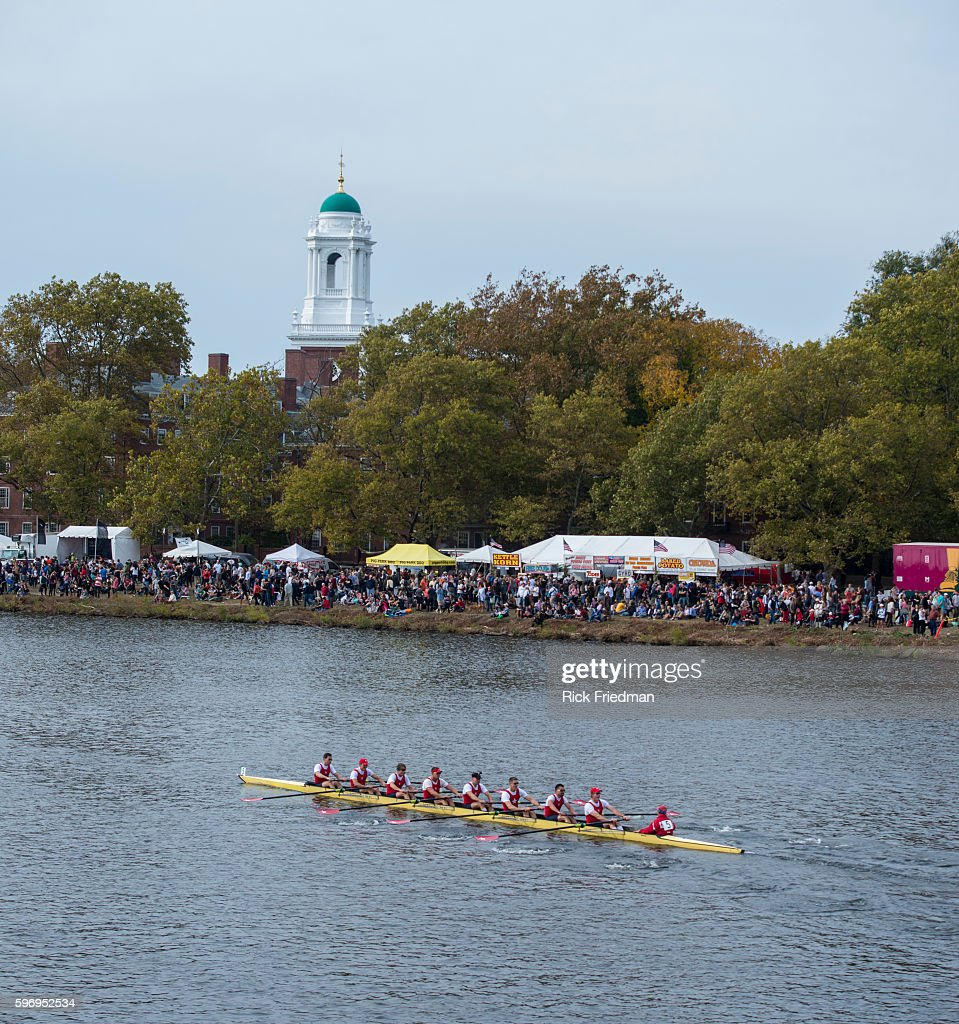 The 49th Head of the Charles Regatta on the Charles River between Boston and Cambridge MA on October 19 2013 The Head of Charles which began in 1965...