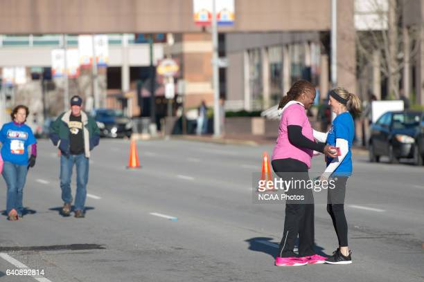 The 4Kay 5K takes place at the during the 2016 Women's Final Four in Indianapolis IN Justin Tafoya/NCAA Photos via Getty Images