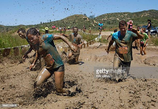 The 4th annual Mud Run started at 9am Sunday April 10 2011 at Irvine Lake The Mud Run is a spirited 38 mile endurance race over barriers and through...