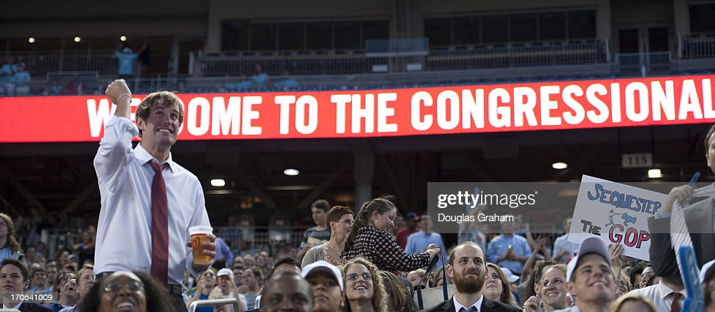 The 52nd annual Congressional Baseball Game at National Stadium in Washington on Thursday, June 13, 2013.
