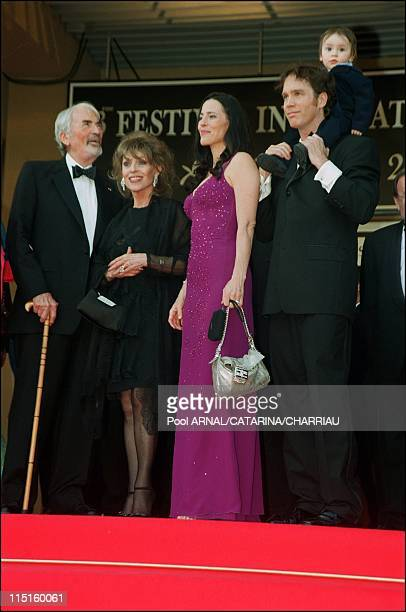 The 53th Cannes Film Festival in Cannes France in May 2000 Gregory Peck and family
