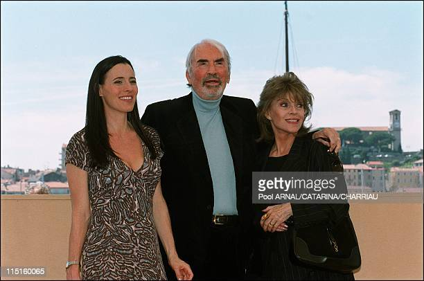 The 53th Cannes Film Festival in Cannes France in May 2000 Gregory Peck and Barbara Kopple